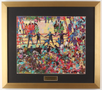 "LeRoy Neiman ""Muhammad Ali"" 18.5x21 Custom Framed Print Display"