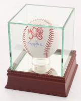 Reggie Jackson Signed Official 1978 World Series Baseball with Display Case (PSA COA)