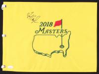 Fred Couples Signed 2018 Masters Pin Flag (JSA COA)