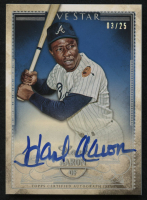 2016 Topps Five Star Autographs Rainbow #FSAHA Hank Aaron #3/25 at PristineAuction.com