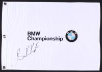 Brooks Koepka Signed BMW Championship Pin Flag (JSA COA)