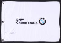 Jordan Spieth Signed BMW Championship Golf Pin Flag (JSA COA)