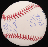 """Mike Smith Signed OML Baseball Inscribed """"2018 T.C"""" (PSA Hologram) at PristineAuction.com"""