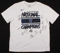 """2016 Villanova Wildcats """"National Champions"""" T-Shirt Team-Signed by (12) with Kris Jenkins, Ryan Arcidiacono, Jalen Brunson, Phil Booth (Beckett LOA) at PristineAuction.com"""