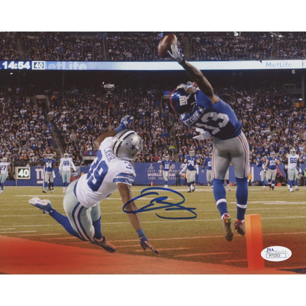 Odell Beckham Jr. Signed New York Giants 8x10 Photo (JSA