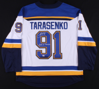 "Vladimir Tarasenko Signed St. Louis Blues Jersey Inscribed ""2019 SC Champs"" (Fanatics Hologram) at PristineAuction.com"
