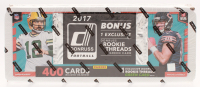 2017 Panini Donruss Football Complete Set of (400) Cards with (1) Exclusive Rookie Threads Green Card at PristineAuction.com