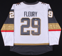 "Marc-Andre Fleury Signed Vegas Golden Knights Jersey Inscribed ""Vegas Born"" (Beckett COA) at PristineAuction.com"