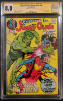 "Neal Adams Signed 1971 ""Superman's Pal, Jimmy Olsen"" Issue #136 DC Comic Book (CGC Encapsulated - 8.0) at PristineAuction.com"