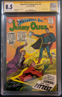 "Neal Adams Signed 1968 ""Superman's Pal, Jimmy Olsen"" Issue #115 DC Comic Book (CGC Encapsulated - 8.5) at PristineAuction.com"