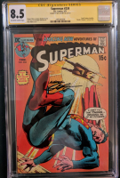 "Neal Adams Signed 1971 ""Superman"" Issue #234 DC Comic Book (CGC Encapsulated - 8.5) at PristineAuction.com"