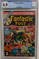 "1973 ""Fantastic Four"" Annual Issue #10 Marvel Comic Book (CGC 6.0) at PristineAuction.com"