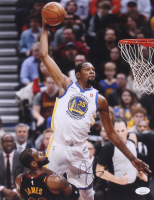 Kevin Durant Signed Golden State Warriors 11x14 Photo (JSA COA)