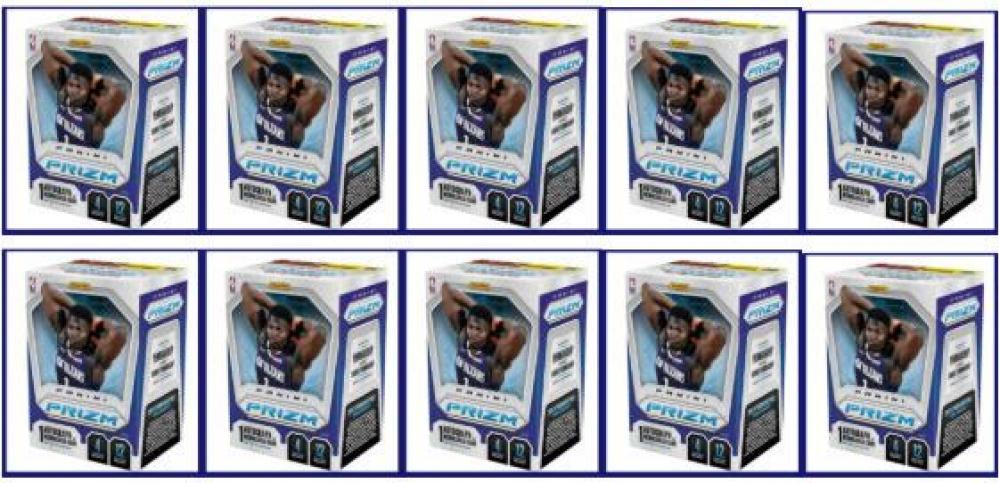 Lot of (10) 2019-20 Panini Prizm Basketball Fanatics EX Hobby Box of (12) Packs at PristineAuction.com