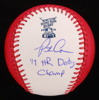 """Pete Alonso Signed 2019 Home Run Derby OML Baseball Inscribed """"'19 HR Derby Champ"""" (MLB Hologram) at PristineAuction.com"""