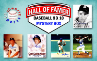 Schwartz Sports Baseball Hall of Famers Signed 8x10 Photo Mystery Box Series 2 (Limited to 100) - **Willie Mays & Ozzie Smith 16x20 Photo Redemptions** at PristineAuction.com