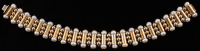 18Kt Yellow Gold Pearl Bracelet at PristineAuction.com
