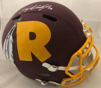 Dwayne Haskins Signed Washington Redskins AMP Full-Size Speed Helmet (JSA COA) at PristineAuction.com