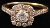 14Kt Yellow Gold Neil Lane Diamond Engagement Ring at PristineAuction.com