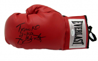 "James ""Buster"" Douglas Signed Everlast Boxing Glove Inscribed ""Tyson KO 2/11/90"" (JSA COA)"