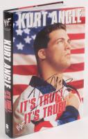 "Kurt Angle Signed ""It's True! It's True!"" Hardcover Book (JSA COA)"