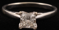 14Kt White Gold Diamond Engagement Ring at PristineAuction.com