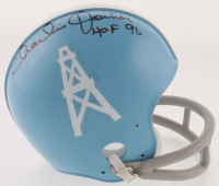 "Charlie Joiner Signed Houston Oilers Mini Helmet Inscribed ""HOF 96"" (JSA COA) at PristineAuction.com"