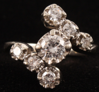 14Kt White Gold Diamond Ring at PristineAuction.com