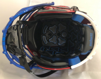 Daniel Jones Signed New York Giants Full-Size Authentic On-Field Hydro Dipped F7 Helmet (Beckett COA) at PristineAuction.com