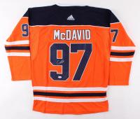 Connor McDavid Signed Edmonton Oilers Captain's Jersey (JSA LOA) at PristineAuction.com