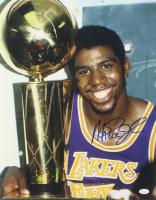 Magic Johnson Signed Los Angeles Lakers 16x20 Photo (JSA COA) at PristineAuction.com