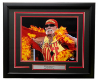 Hulk Hogan Signed WWE 16x20 Custom Framed Photo Display (Beckett COA) at PristineAuction.com