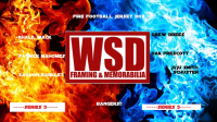 """WSD """"Fire Football"""" Mystery Jersey Box - Autographed Football Jersey Series - 3 at PristineAuction.com"""