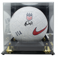 Alex Morgan Signed Team USA Nike Soccer Ball with Acrylic Display Case (JSA COA)