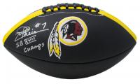 "Joe Theismann Signed Washington Redskins Logo Football Inscribed ""SB XVII Champs"" (JSA COA) at PristineAuction.com"