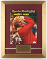 Jack Nicklaus Signed Original 1975 Sports Illustrated 14x18 Custom Framed Magazine Display (JSA COA) at PristineAuction.com