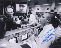 "Gene Kranz Signed 11x14 Photo Inscribed ""Aim High!"" & ""Flight"" (JSA COA) at PristineAuction.com"