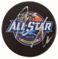 Josh Bailey Signed 2018 NHL All-Star Game Logo Hockey Puck (JSA COA) at PristineAuction.com