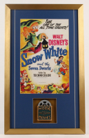 """Snow White and the Seven Dwarfs"" 17x28 Custom Framed Print Display with 8mm Film reel at PristineAuction.com"