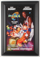 """Space Jam"" 14.5x20.5 Custom Framed Movie Poster Display at PristineAuction.com"