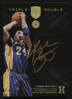 2017 Panini Kobe Eminence Triple Double Autographs Diamond #17 Kobe Bryant #4/8 at PristineAuction.com
