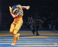 Todd Gurley Signed Los Angeles Rams 16x20 Photo (Beckett COA) at PristineAuction.com