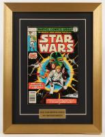 "Vintage 1977 ""Star Wars"" Issue #1 Marvel 13x17 Custom Framed Comic Book at PristineAuction.com"
