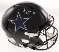 Amari Cooper Signed Dallas Cowboys Full-Size Authentic On-Field Speed Helmet (JSA COA) at PristineAuction.com