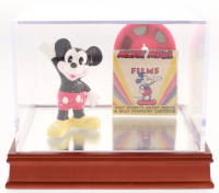 Lot of (2) Vintage Mickey Mouse Items with Figurine & 1950s 8mm Film at PristineAuction.com