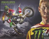 Ryan Villopoto Signed Motocross 8x10 Photo (Beckett COA) at PristineAuction.com