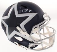Amari Cooper Signed Dallas Cowboys AMP Alternate Full-Size Speed Helmet (JSA COA) at PristineAuction.com