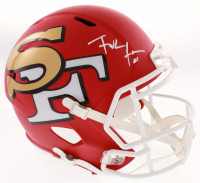 Frank Gore Signed San Francisco 49ers AMP Alternate Full-Size Speed Helmet (Beckett COA) at PristineAuction.com