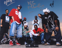 Wu-Tang Clan 11x14 Photo Signed by (7) with RZA, GZA, Ghostface Killah, Method Man, Inspectah Deck, Raekwon & U-God (JSA ALOA) at PristineAuction.com