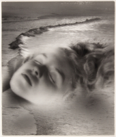 Marilyn Monroe 11x12.75 Silver Gelatin Print Hand-Stamped by Andre De Dienes at PristineAuction.com